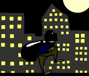 Serial burglar on the loose. 3 Best options: ID system, Access Control or Security Companies.