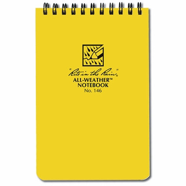 security guard waterproof notepad