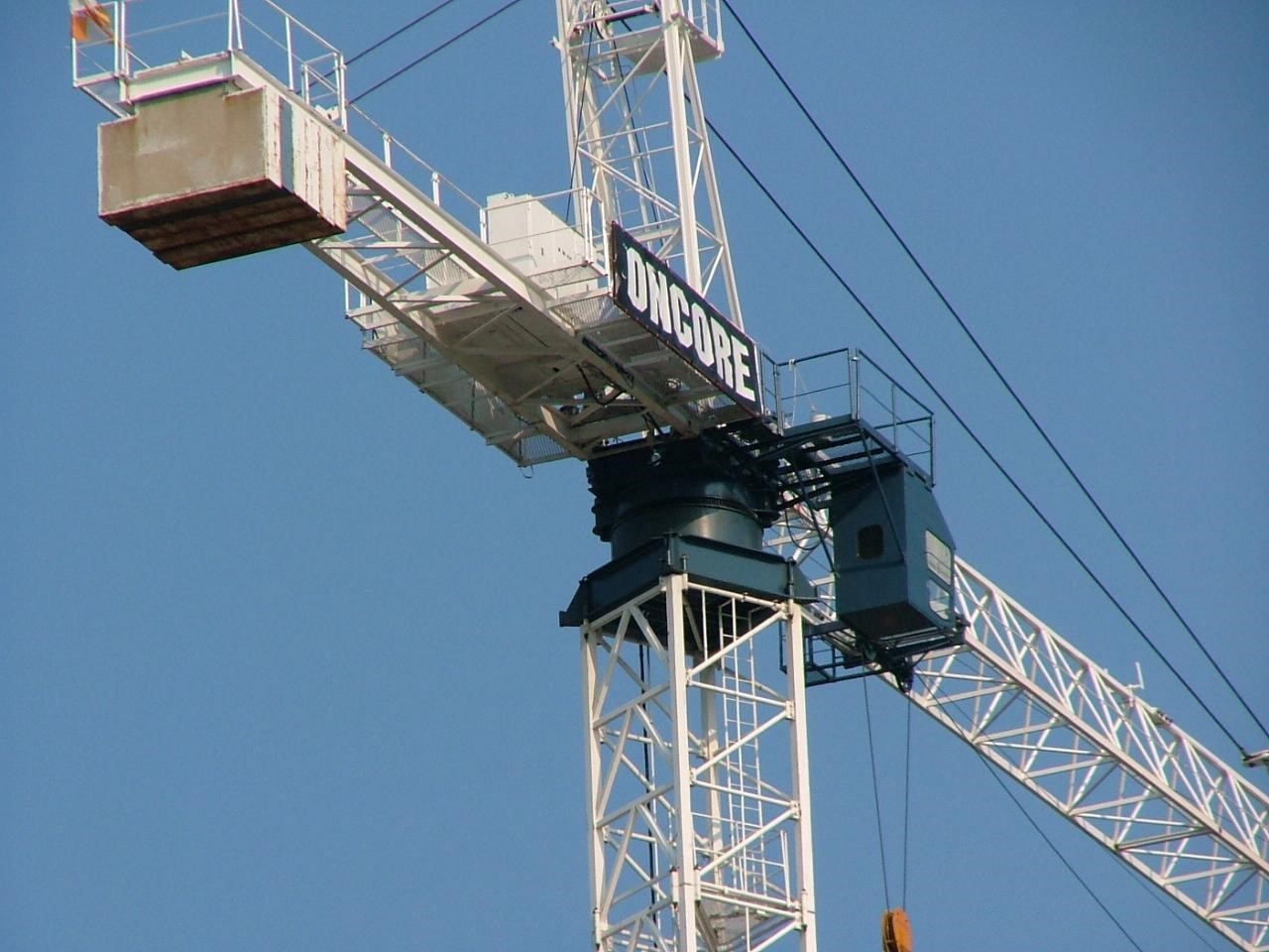 Construction safety crane