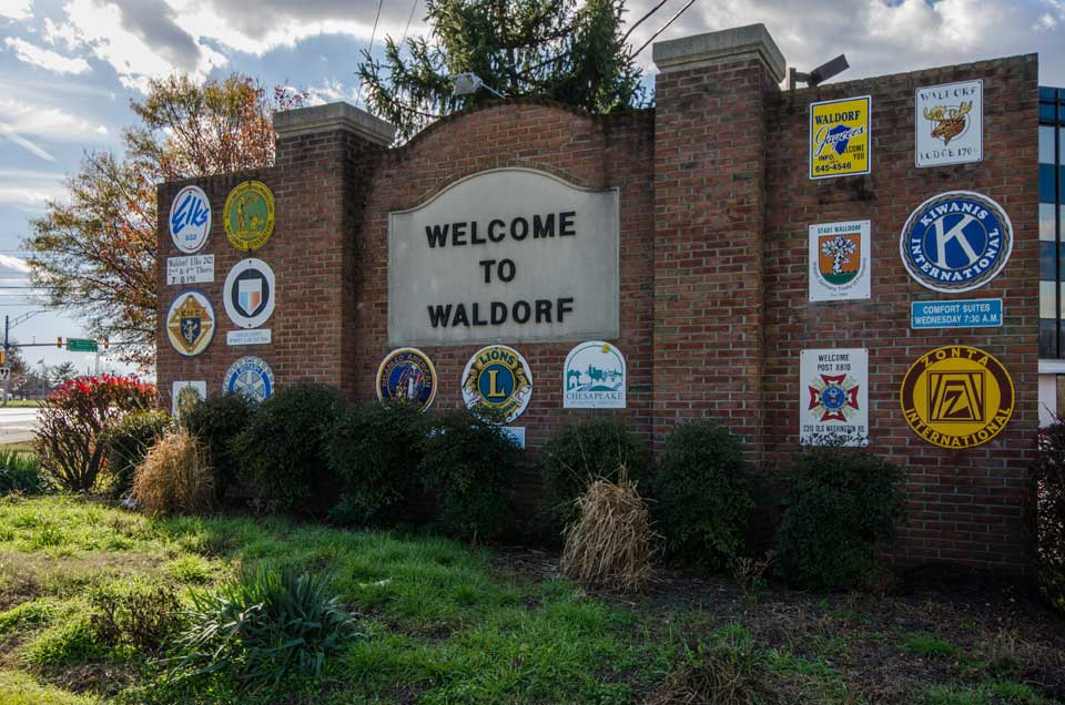 waldorf, md sign