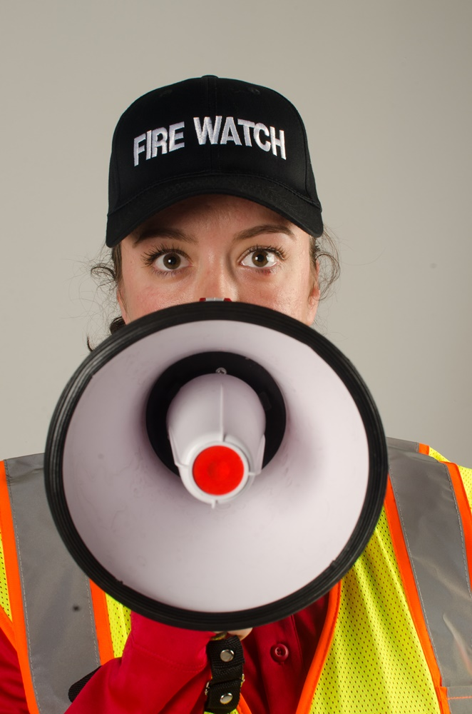 female Annandale, VA fire watch patrol officer